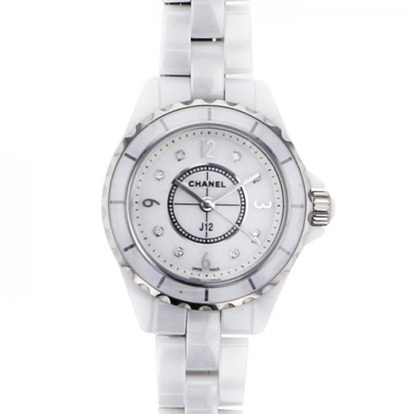 シャネル H2570 CHANEL J12 【新品】 腕時計 ホワイト文字盤 レディース