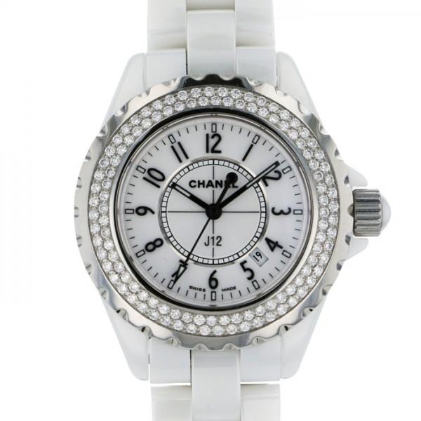 シャネル CHANEL J12 H0967 ホワイト文字盤 レディース 腕時計 【中古】