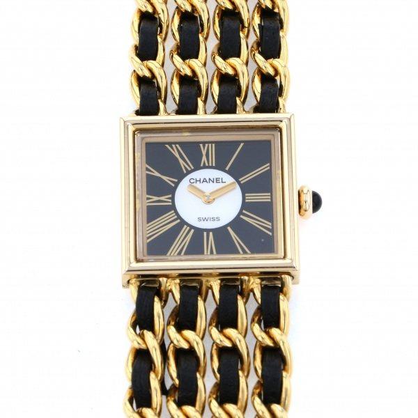 【期間限定ポイント5倍 5/5~5/31】 シャネル CHANEL その他 マドモアゼル H0006 ブラック文字盤 レディース 腕時計 【中古】