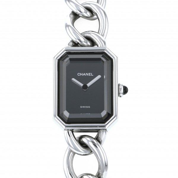 878d52786f06 レディース 腕時計 ジュエリー 【中古】 シャネル CHANEL プルミエール H3250 ブラック文字盤 ヘラクレス 新版