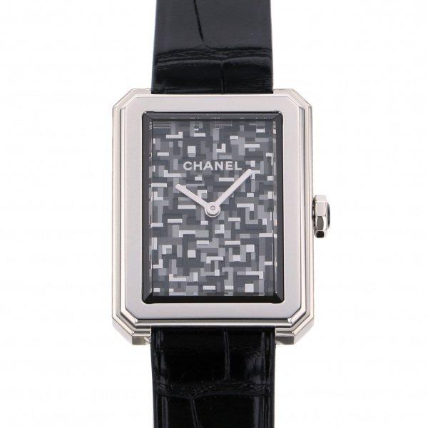 シャネル CHANEL ボーイフレンド ネオ ツイード 世界限定1000本 H6127 グレー文字盤 レディース 腕時計 【新品】