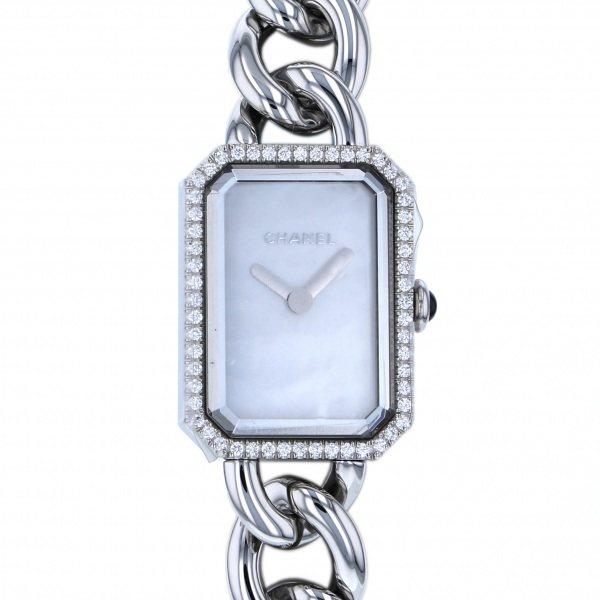 シャネル CHANEL プルミエール H3253 ホワイト文字盤 レディース 腕時計 【新品】