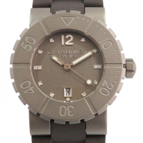 ショーメ CHAUMET その他 クラスワン W1722D33N グレー文字盤 レディース 腕時計 【新品】