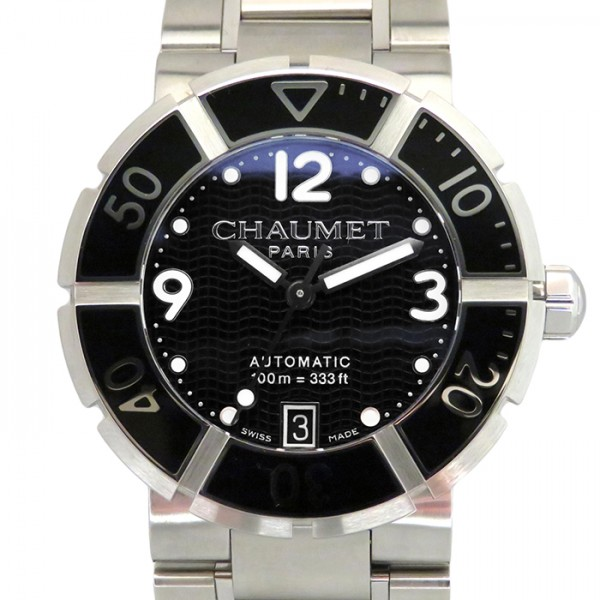 【期間限定ポイント5倍 5/5~5/31】 ショーメ CHAUMET その他 クラスワン W1768138B ブラック文字盤 メンズ 腕時計 【新品】