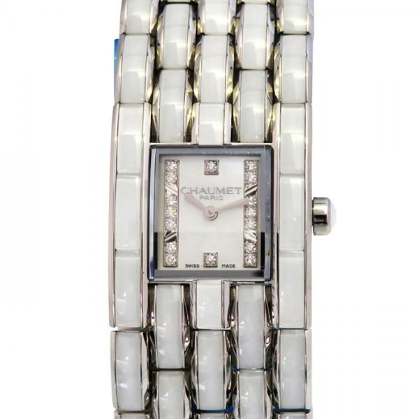 ショーメ CHAUMET その他 ケイシス ホワイトクリスタル W19635-35A ホワイト文字盤 レディース 腕時計 【新品】