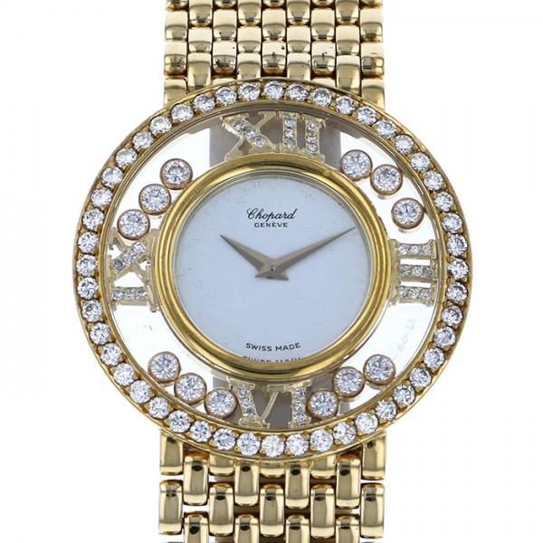 ショパール CHOPARD その他 ハッピーダイヤモンド 21-2944 ホワイト文字盤 レディース 腕時計 【中古】