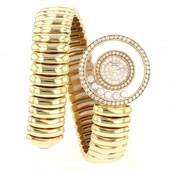 全国総量無料で ショパール Chopard ハッピーダイヤ 20/5434 全面ダイヤ文字盤  腕時計 レディース, 子供服ベビー服通販 タンタン 93ce25c6