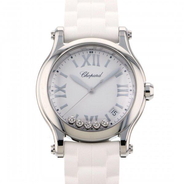 ショパール CHOPARD その他 ハッピースポーツ 278582-3001 ホワイト文字盤 レディース 腕時計 【新品】