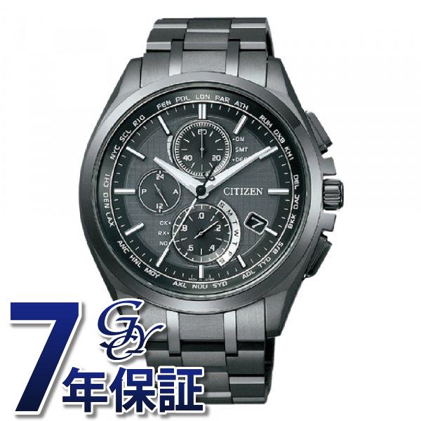 【期間限定ポイント5倍 5/5~5/31】 シチズン CITIZEN アテッサ AT8044-56E ブラック文字盤 メンズ 腕時計 【新品】
