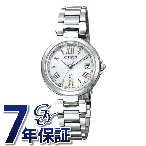 シチズン CITIZEN クロスシー EC1030-50A シルバー文字盤 レディース 腕時計 【新品】