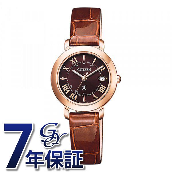 シチズン CITIZEN クロスシー ES9442-04W ブラウン文字盤 レディース 腕時計 【新品】