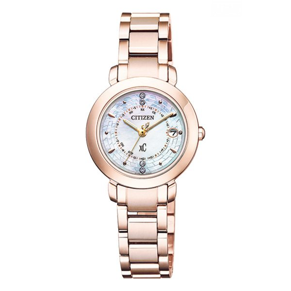 シチズン CITIZEN クロスシー ES9444-50X シルバー文字盤 レディース 腕時計 【新品】