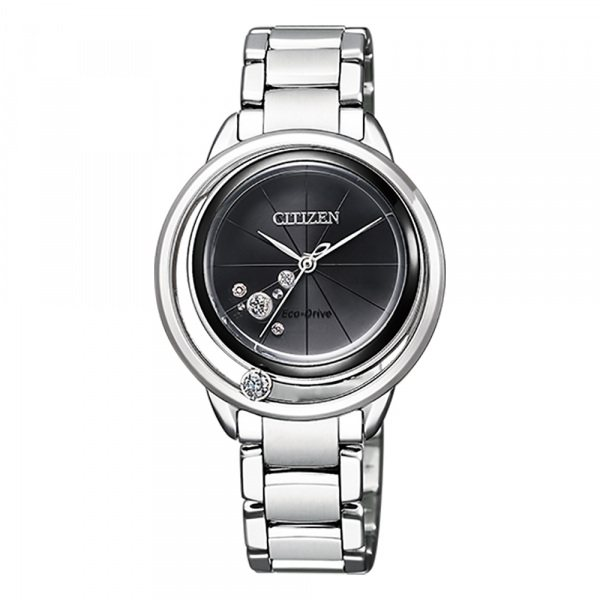 シチズン CITIZEN その他 エル EW5529-80E ブラック文字盤 レディース 腕時計 【新品】
