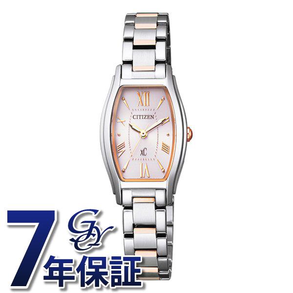 シチズン CITIZEN クロスシー EW5544-51W ピンク文字盤 レディース 腕時計 【新品】