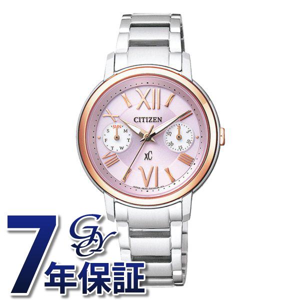 シチズン CITIZEN クロスシー FD1094-53W ピンク文字盤 レディース 腕時計 【新品】
