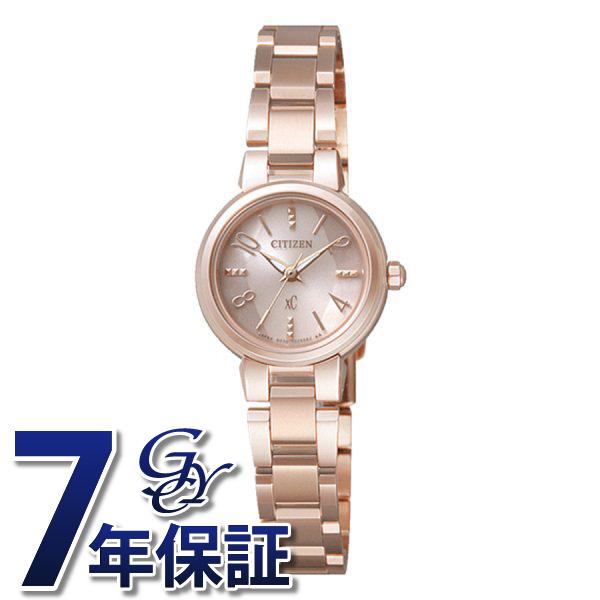 シチズン CITIZEN クロスシー XCB38-9143 ピンク文字盤 レディース 腕時計 【新品】