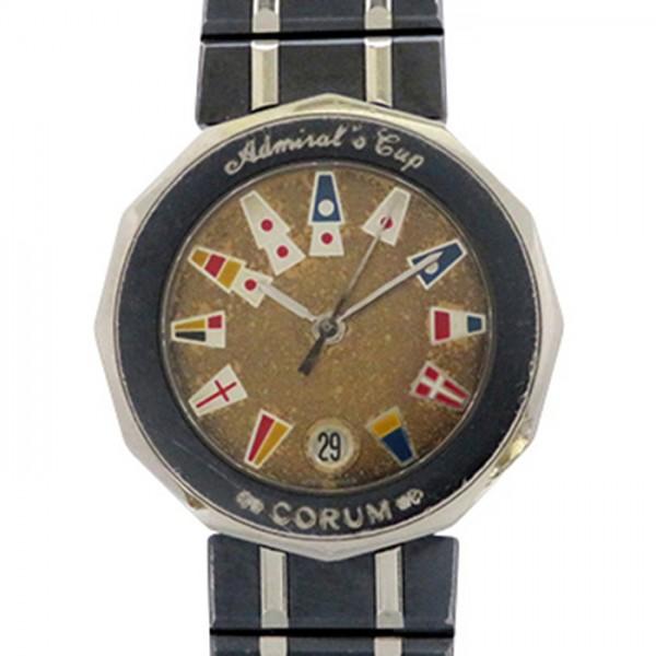 コルム CORUM その他 アドミラルズカップ 39.610.30V50 ブラウン文字盤 レディース 腕時計 【中古】
