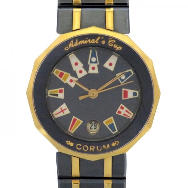 コルム CORUM その他 アドミラルズカップ 39.610.31V52B ブルー文字盤 レディース 腕時計 【中古】