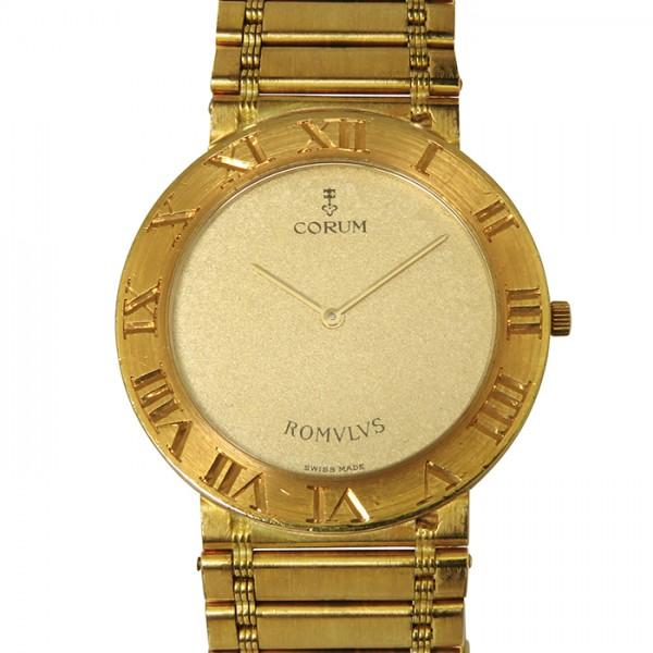 コルム CORUM その他 ロムルス 50.103.56V48 ゴールド文字盤 メンズ 腕時計 【中古】