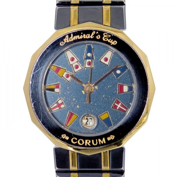 コルム CORUM その他 アドミラルズカップ 39.610.31V52 ネイビー文字盤 レディース 腕時計 【新品】