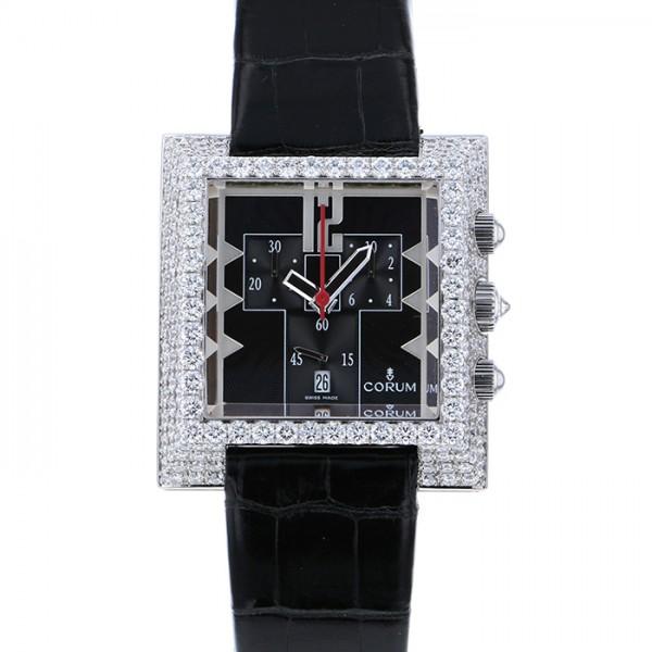 コルム CORUM その他 ダイヤモンドベゼル - ブラック文字盤 メンズ 腕時計 【中古】