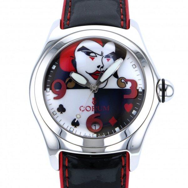 コルム CORUM その他 バブル ジョーカー 世界限定777本 82.240.20 ブラック/ホワイト文字盤 メンズ 腕時計 【中古】