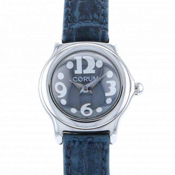 【全品 ポイント10倍 4/9~4/16】コルム CORUM その他 ミニバブル 10115020 ブルー文字盤 レディース 腕時計 【中古】