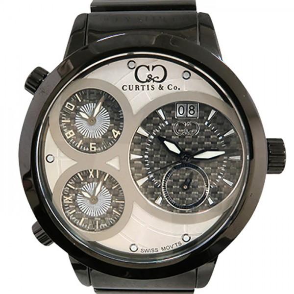 カーティス CURTIS&CO その他 ビッグタイムワールド SW4W-B ホワイト文字盤 メンズ 腕時計 【新品】