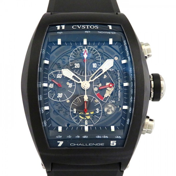 <title>クストス 高い素材 CVSTOS チャレンジ クロノグラフ CVT-CHR-BST ブラック文字盤 新品 腕時計 メンズ</title>