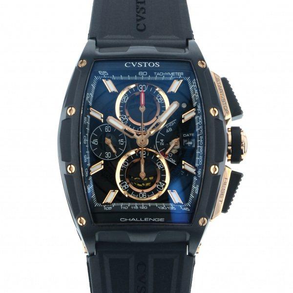 クストス CVSTOS その他 チャレンジ クロノ II CVT-CHR2-CP5N BST ブラック/ゴールド文字盤 メンズ 腕時計 【新品】