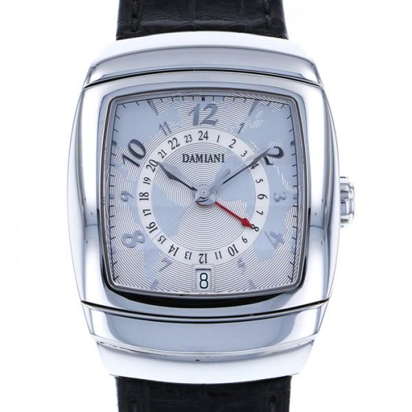 ダミアーニ DAMIANI その他 エゴ オーバーサイズ GMT 30001303 シルバー文字盤 メンズ 腕時計 【新古品】