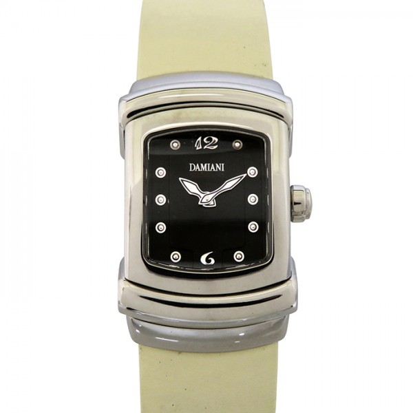 ダミアーニ DAMIANI その他 30000063-IVR ブラック文字盤 レディース 腕時計 【新古品】