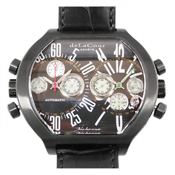 ドゥラクール DELACOUR その他 ビクロノ S2 世界限定500本 WAST2236-0979 ブラック文字盤 メンズ 腕時計 【新品】