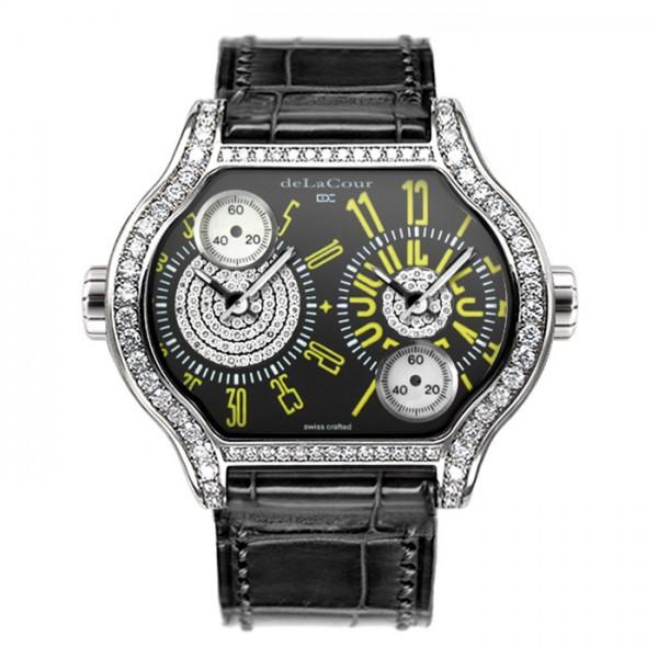 ドゥラクール DELACOUR その他 シティ 2 WAST1901-0661 ブラック文字盤 レディース 腕時計 【新品】