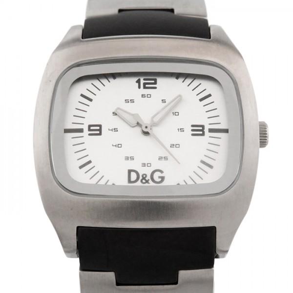 【全品 ポイント10倍 4/9~4/16】ドルチェ&ガッバーナ D&G その他 メンズ クォーツ 腕時計 - ホワイト文字盤 メンズ 腕時計 【中古】
