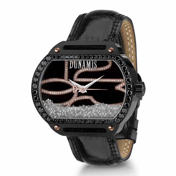 デュナミス DUNAMIS スパルタン SP-B25 ブラック文字盤 メンズ 腕時計 【新品】