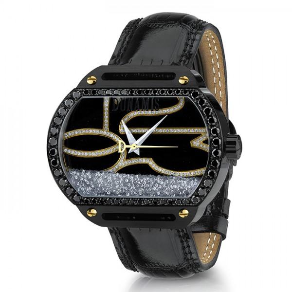 デュナミス DUNAMIS スパルタン SP-B9 ブラック文字盤 メンズ 腕時計 【新品】
