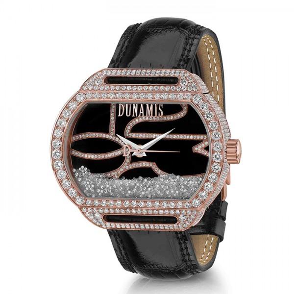 デュナミス DUNAMIS スパルタン SP-R3 ブラック文字盤 メンズ 腕時計 【新品】