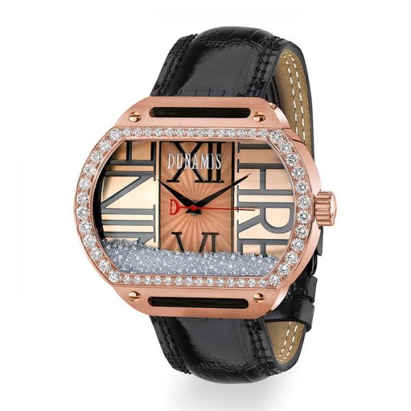 デュナミス DUNAMIS スパルタン SP-R5 ピンクゴールド文字盤 メンズ 腕時計 【新品】