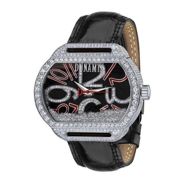 デュナミス DUNAMIS スパルタン SP-S28 ブラック文字盤 メンズ 腕時計 【新品】