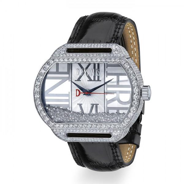 デュナミス DUNAMIS スパルタン SP-S37 シルバー文字盤 メンズ 腕時計 【新品】