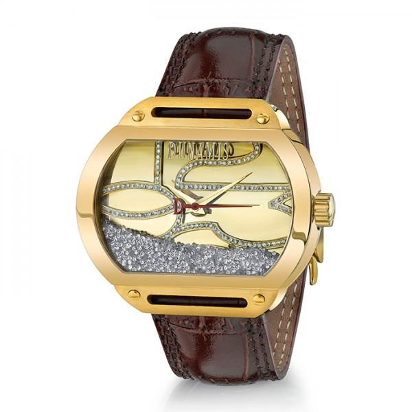 デュナミス DUNAMIS スパルタン SP-Y1 シャンパン文字盤 メンズ 腕時計 【新品】