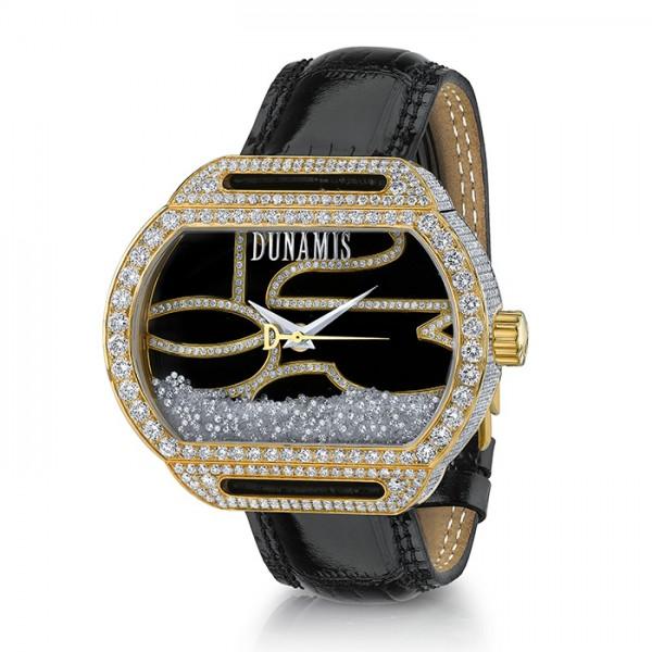 デュナミス DUNAMIS スパルタン SP-Y10 ブラック文字盤 メンズ 腕時計 【新品】