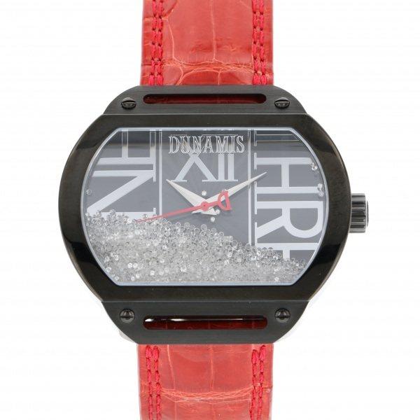 【全品 ポイント10倍 4/9~4/16】デュナミス DUNAMIS スパルタン SP-B30 ブラック文字盤 メンズ 腕時計 【中古】