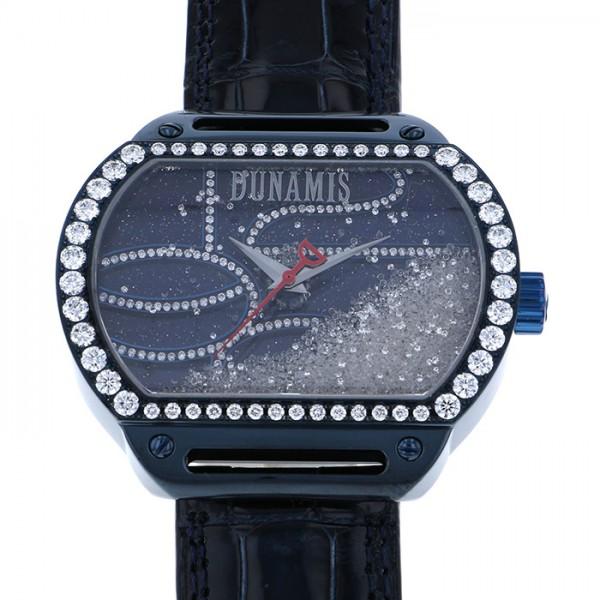 デュナミス DUNAMIS スパルタン ケースダイヤ SP-BL3 イエロー/ブラック文字盤 メンズ 腕時計 【中古】