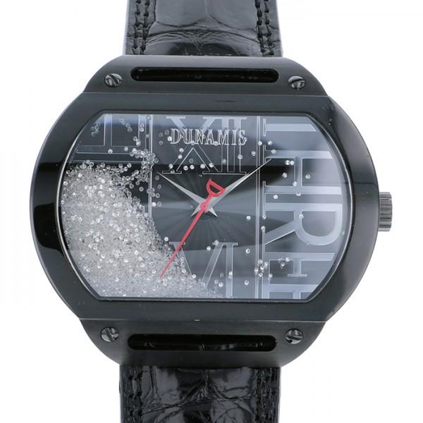 デュナミス DUNAMIS ヘラクレス HE-B1 ブラック文字盤 メンズ 腕時計 【中古】