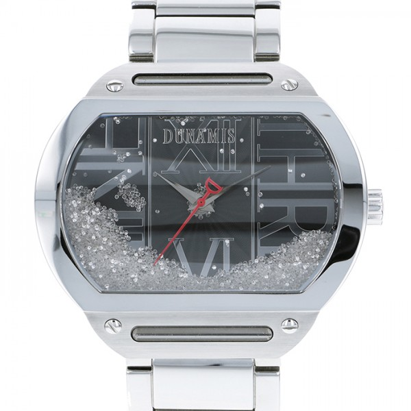 デュナミス DUNAMIS ヘラクレス HE-S20 ブラック文字盤 メンズ 腕時計 【中古】