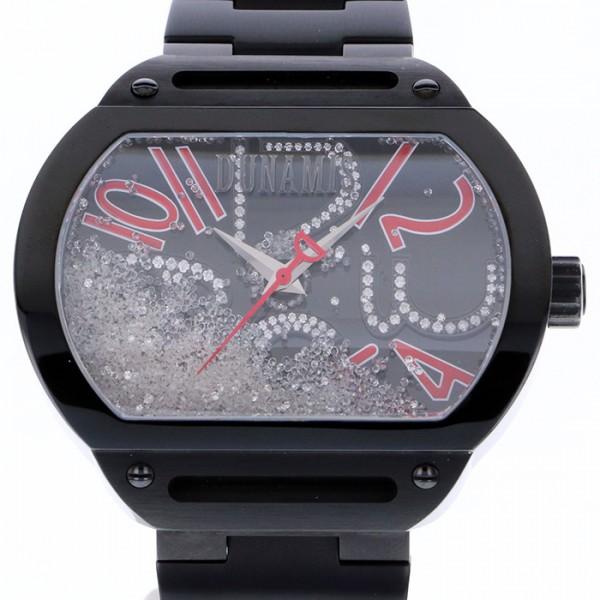 デュナミス DUNAMIS スパルタン SP-B2B ブラック文字盤 メンズ 腕時計 【中古】