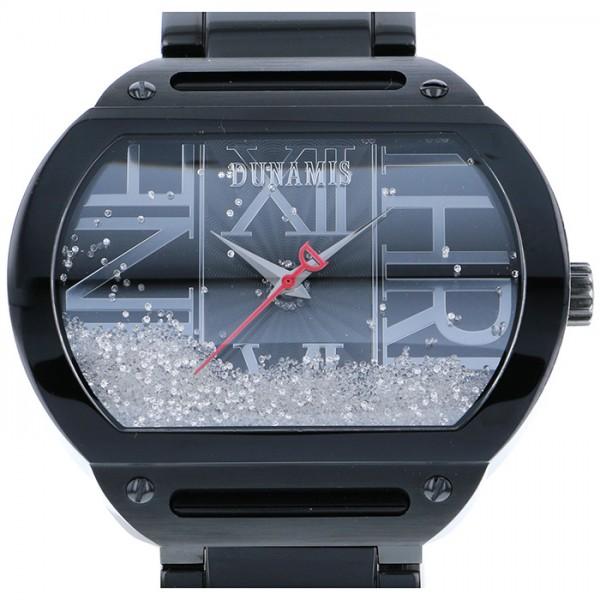 デュナミス DUNAMIS ヘラクレス HE-B12 ブラック文字盤 メンズ 腕時計 【中古】