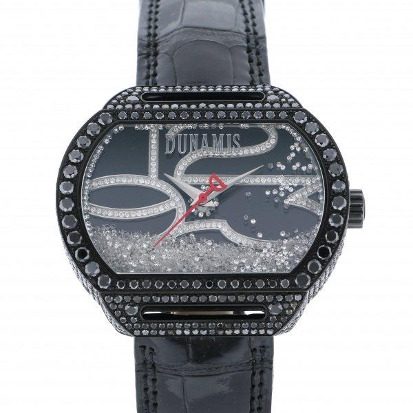 デュナミス DUNAMIS スパルタン SP-B12 ブラック文字盤 メンズ 腕時計 【中古】